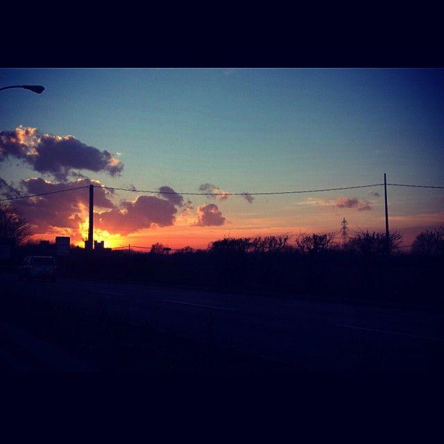 #sunset #passion #nature #meraviglioso #tramonto #winter #love #landscape Ph. Jessica Vancini