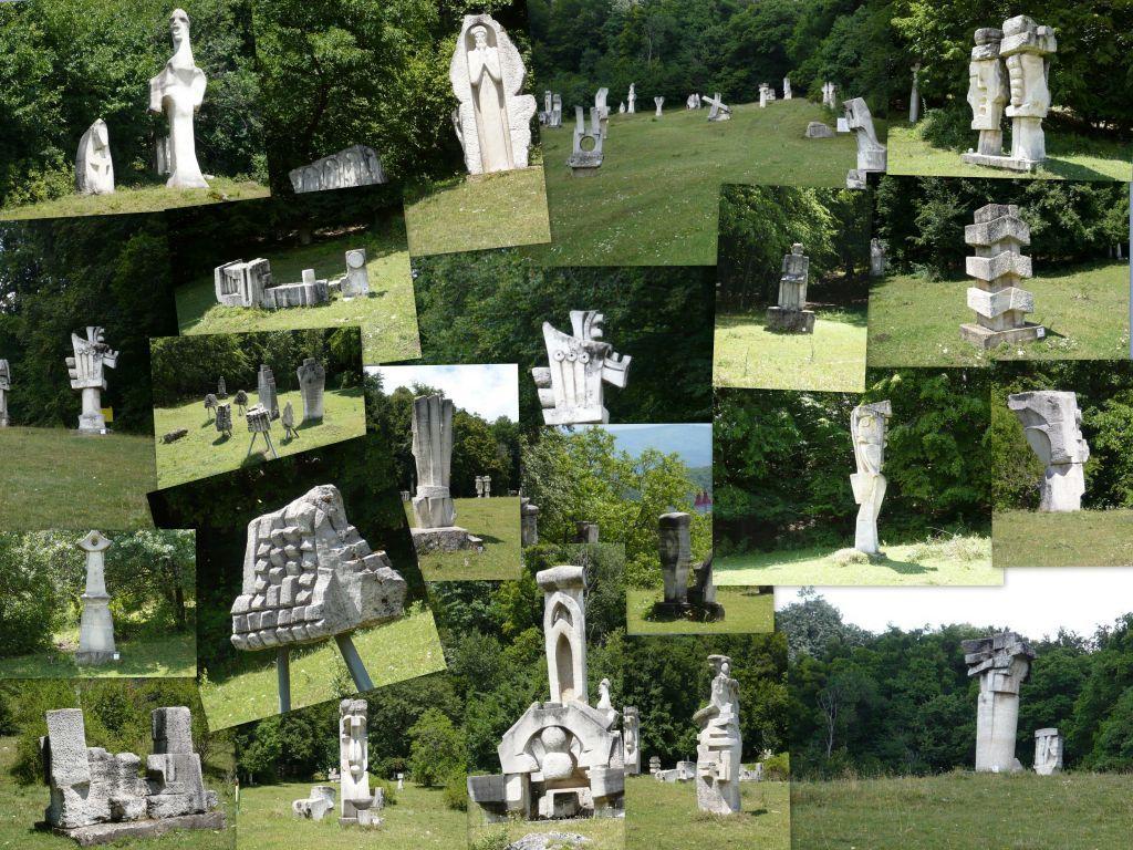 TABARA DE SCULPTURA - MAGURA (BZ) | Garden sculpture, Sculpture ...