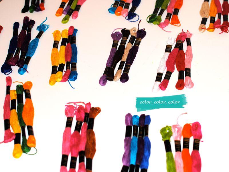 Friendship Bracelets Color Combinations