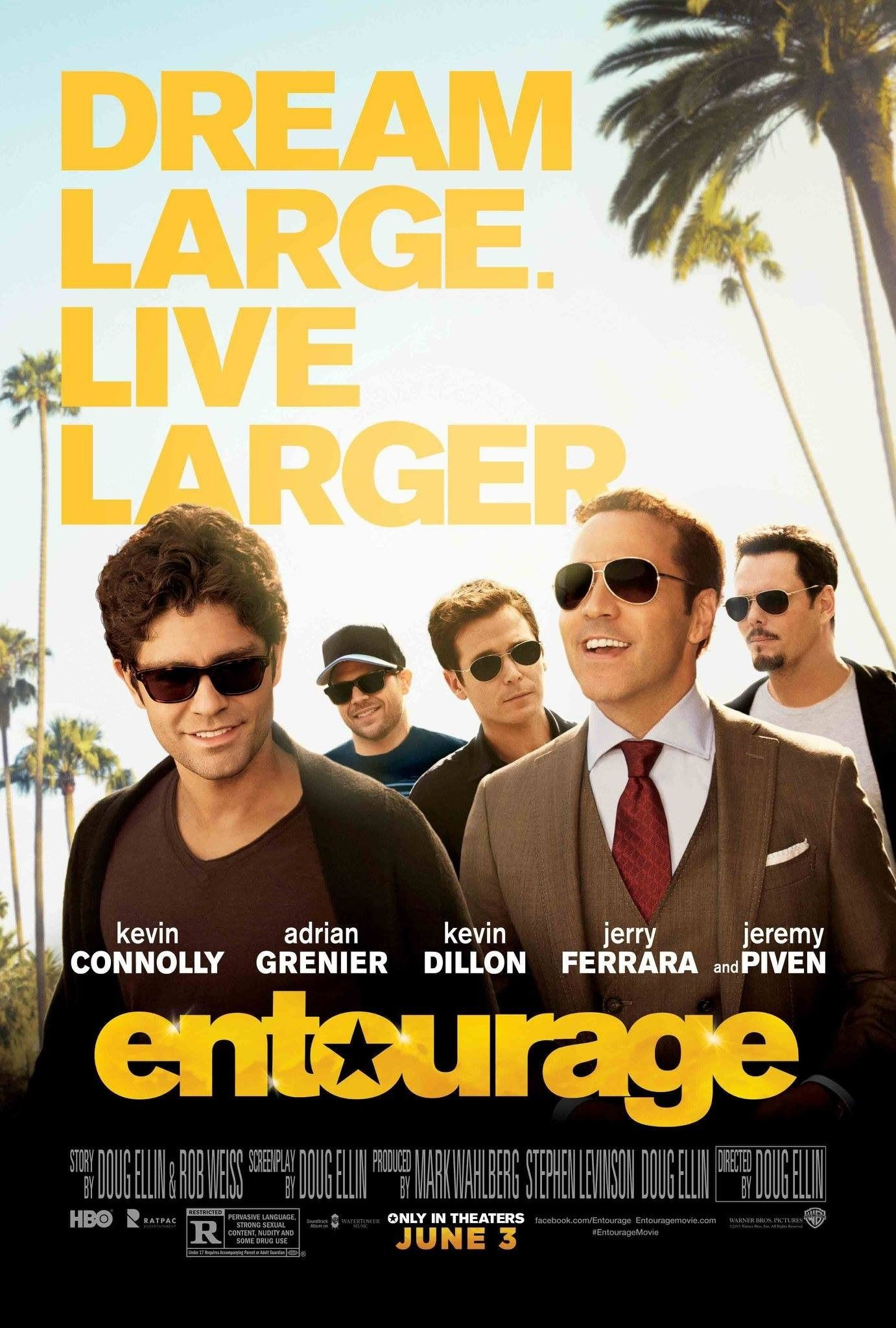 encore entourage the movie warner bros pictures presents in association with home box office in association with ratpac dune entertainment a clo ジョン