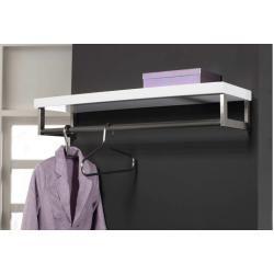 Garderobe Garderoben Modern Holz Metall Stahl Rostbestaendig In
