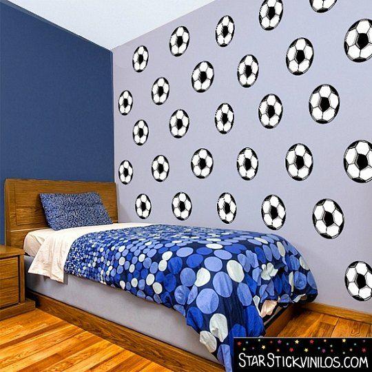 Vinilo ideal para la habitaci n de un futbolista for Habitacion infantil original