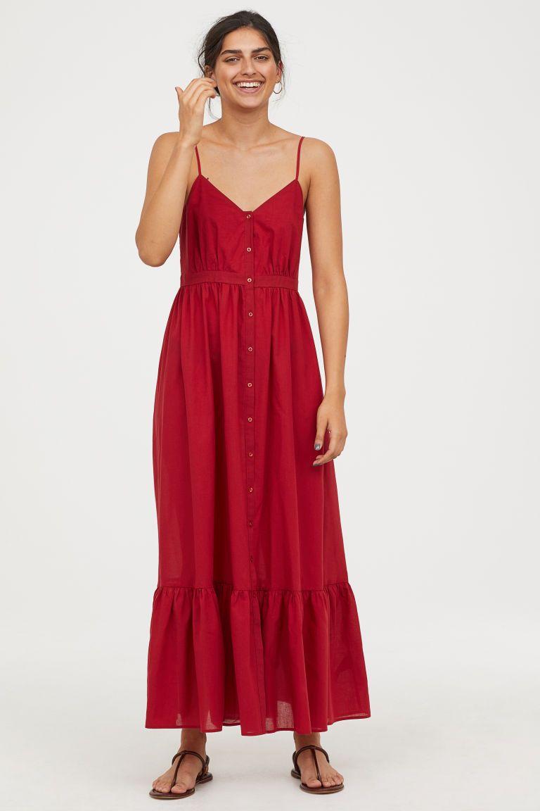 d15f08ce6fa9e42 Хлопковое платье макси в 2019 г. | платья | Dresses, Maxi dresses uk ...