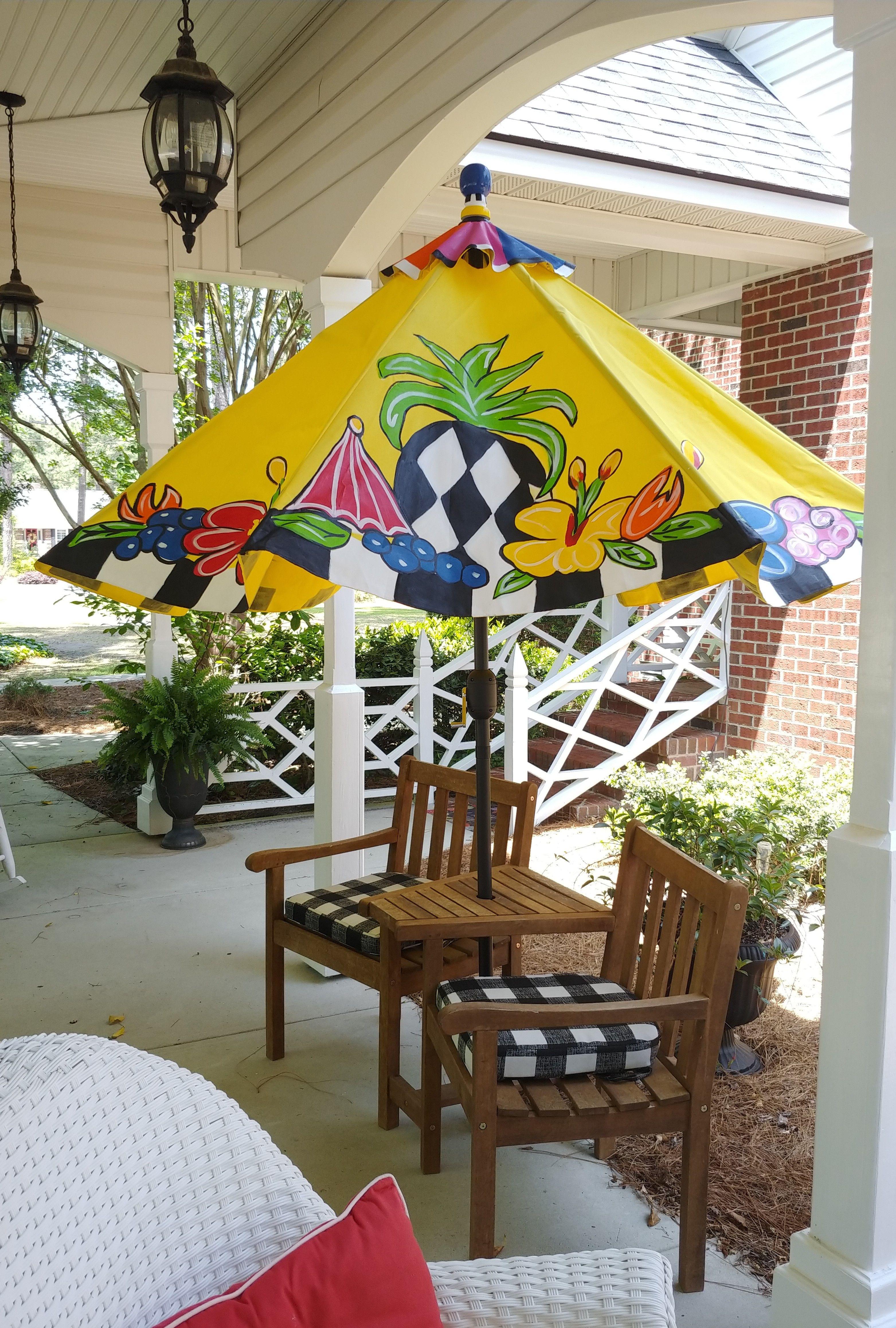 Stix N Tops Custom Umbrellas in 2020 Vintage trailer
