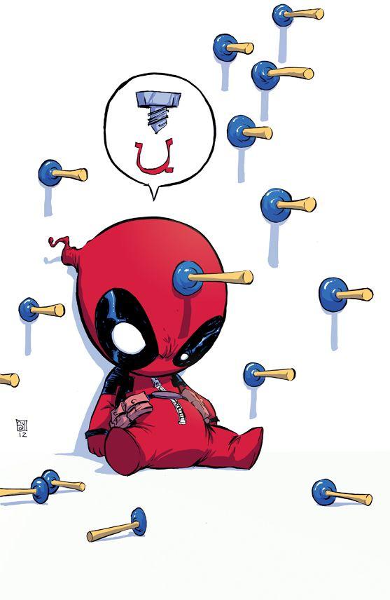 Deadpool Baby Variant by skottieyoung.deviantart.com on @deviantART