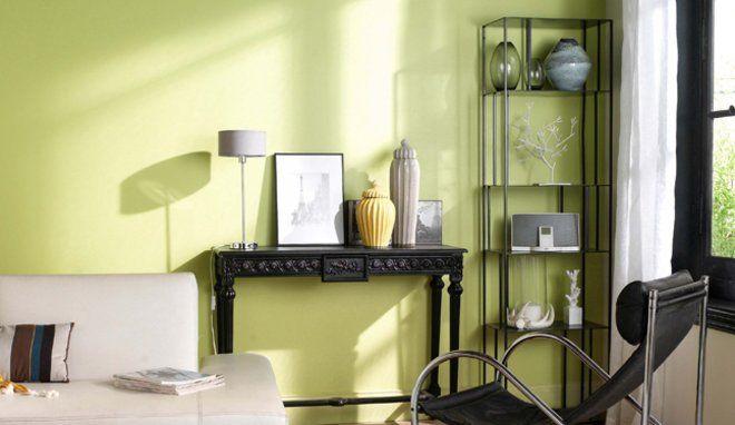 Un int rieur tout doux avec le vert amande castorama for Castorama decoration interieure