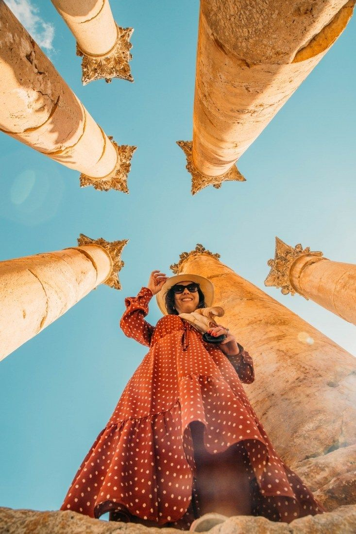 Easy Day Trip from Amman to Northern Jordan #traveltojordan