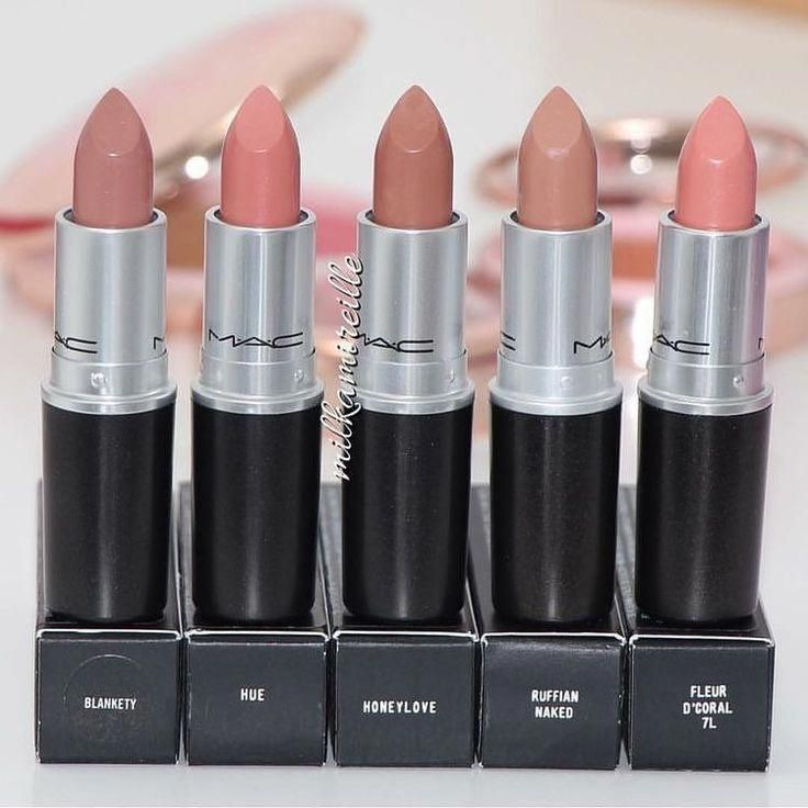These 32 Gorgeous Mac Lipsticks Are Awesome – Blankety , Hue, Honeylove, Ruffi -