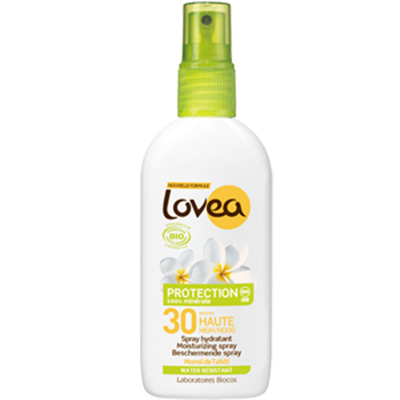 Lovea Bio SPF 30 125ml  Natural, vegan, nano-particle free, divinely scented sun protection from Lovea.  £15.99  #vegansunprotection #vegansunscreen #nanoparticlefreesunscreen #organic #vegan #sunscreen #holiday
