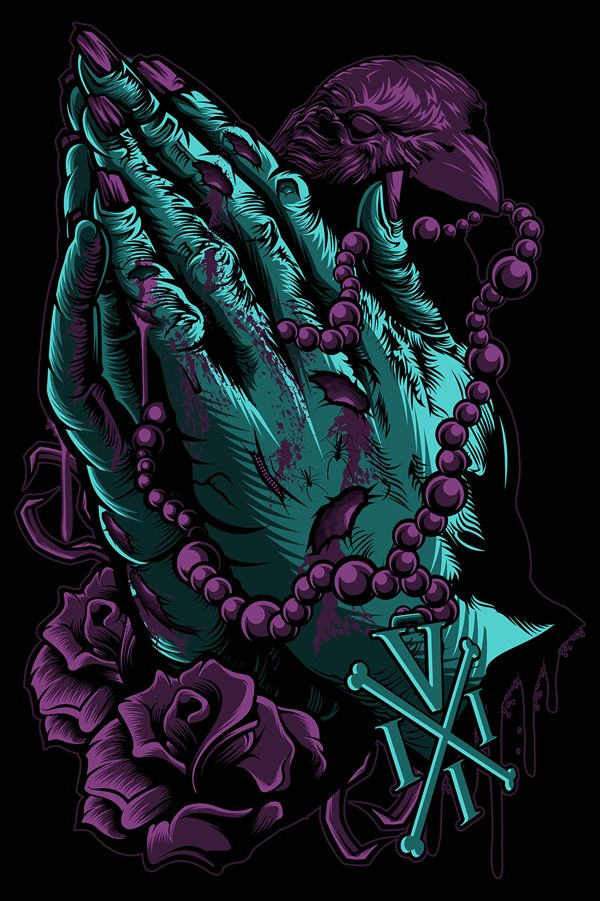 Venom III by Flick Picasso, via Behance