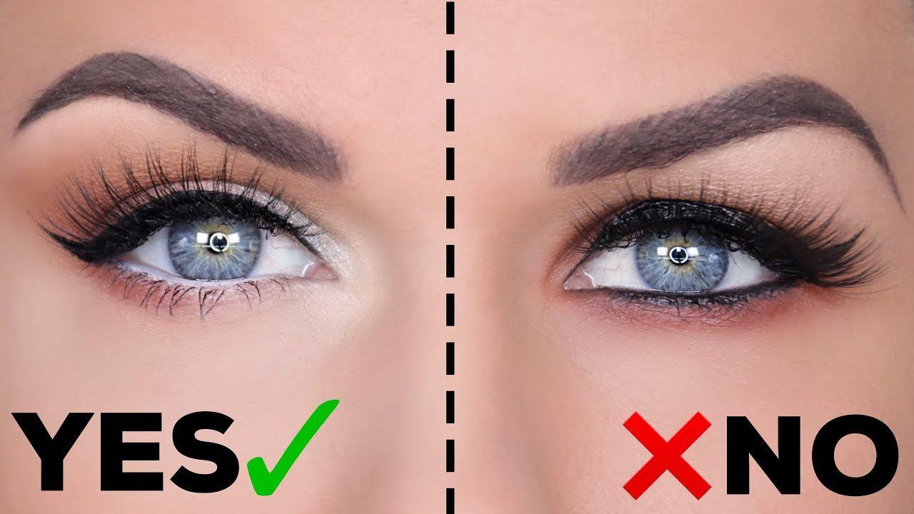 Hooded Eyes Do S Don Ts Youtube Hooded Eye Makeup Hooded Eyes Eyeshadow Looks