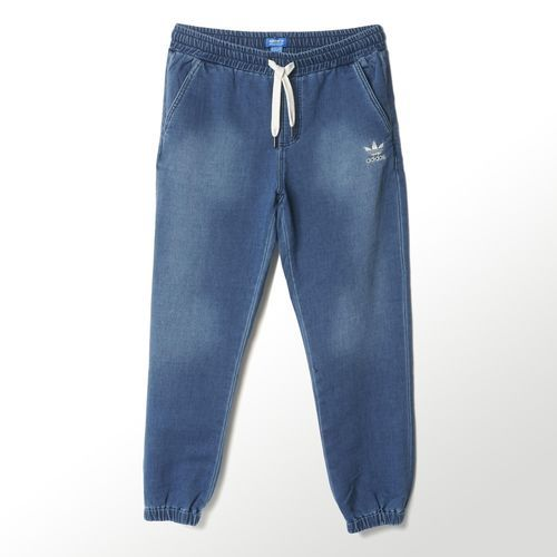 adidas - Indigo French Terry Denim Track Pants