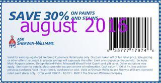 Free Printable Coupons Sherwin Williams Coupons Sherwin