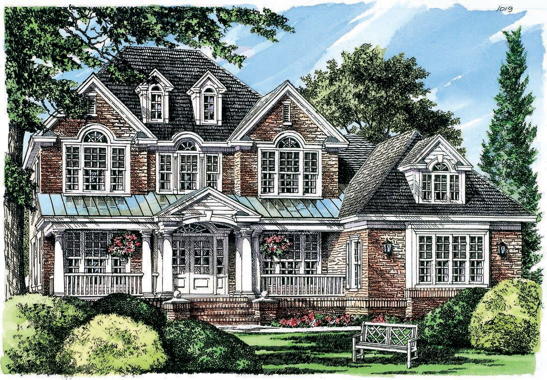 Home Plan The Gracehaven By Donald A Gardner Architects