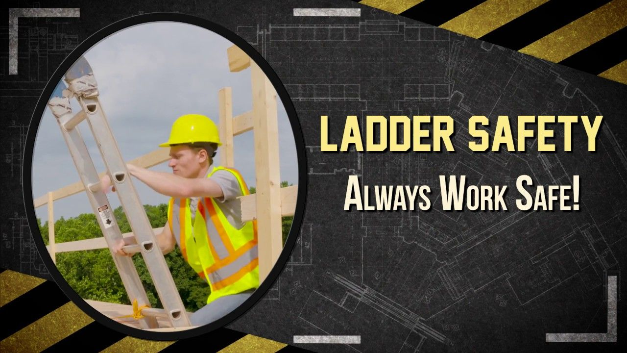 Safety Toolbox Talks Ladder Safety Safety toolbox talks