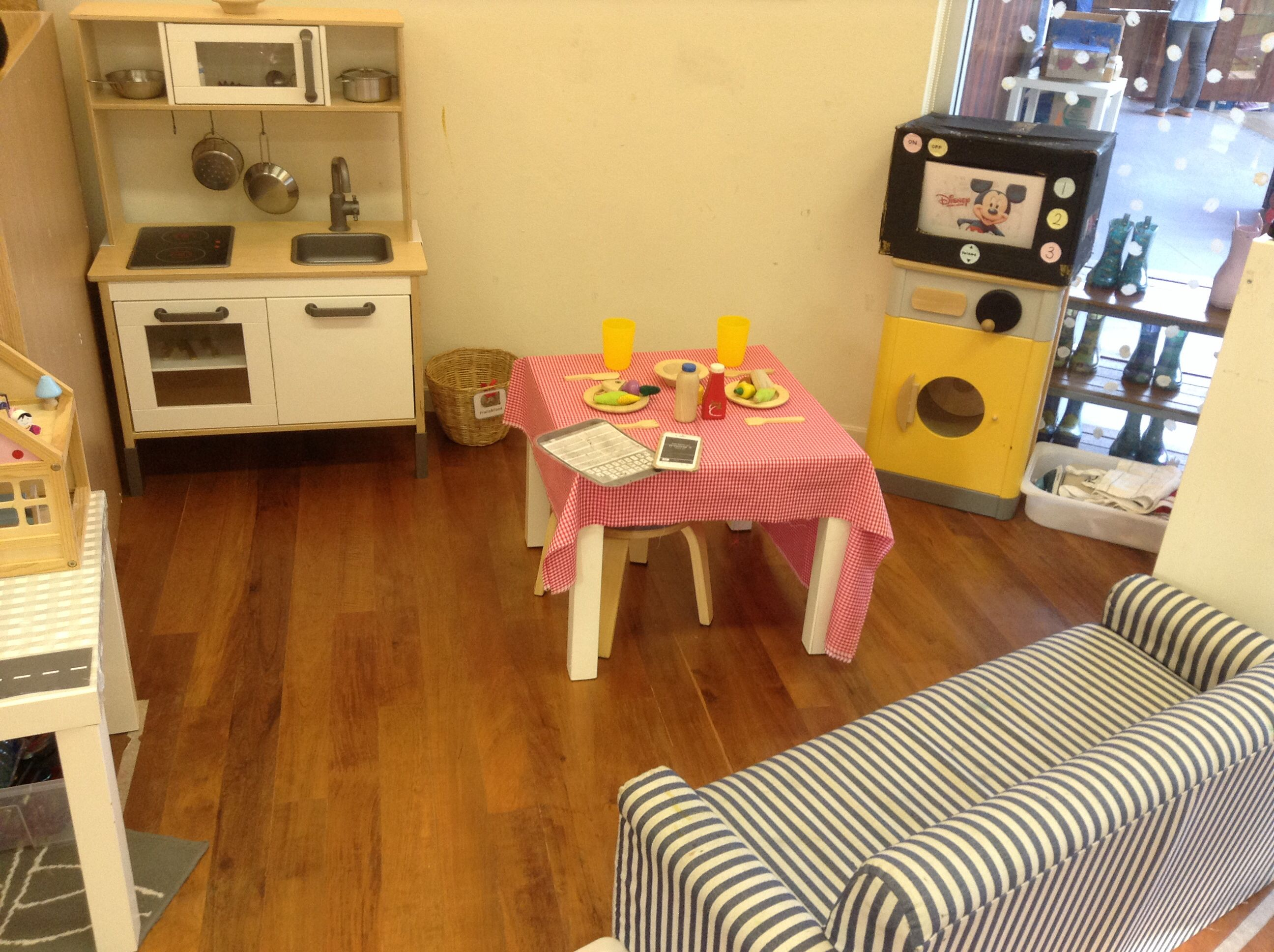home corner furniture. home corner role play furniture