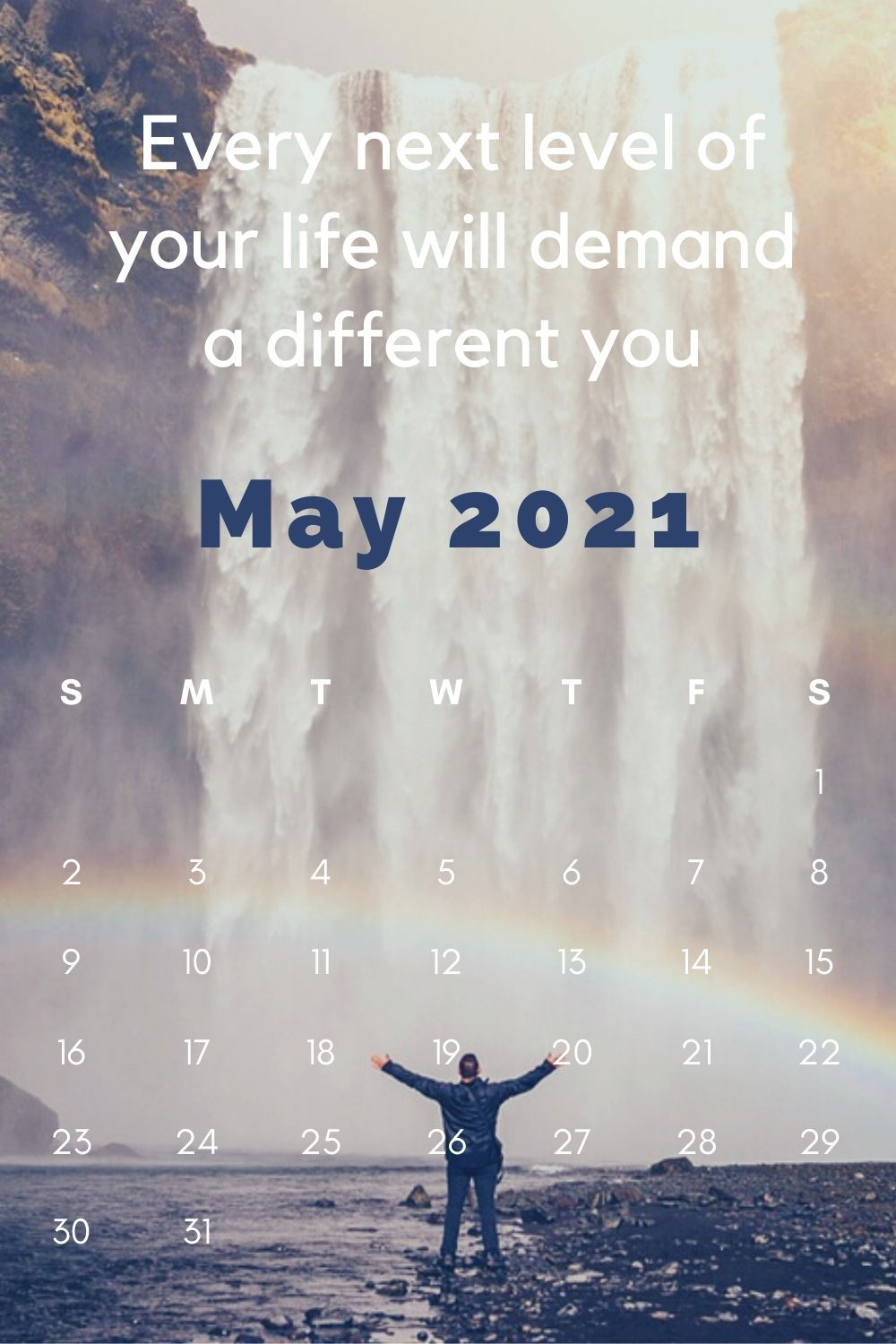 10 Positive Quotes 2021 Calendar Reference Inspirational September 2021 Calendar with Quotes.