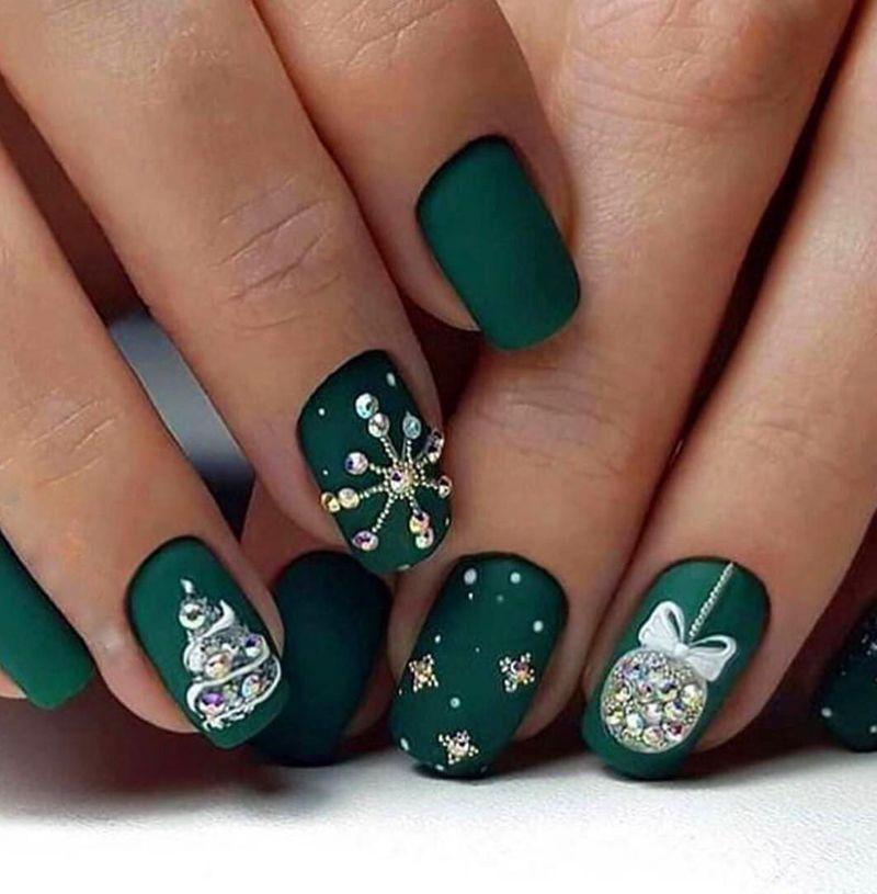 47 beliebte Winter Nails-Farben, die in dieser Saison hervorragend aussehen – #colors #excellen …   – nails winter