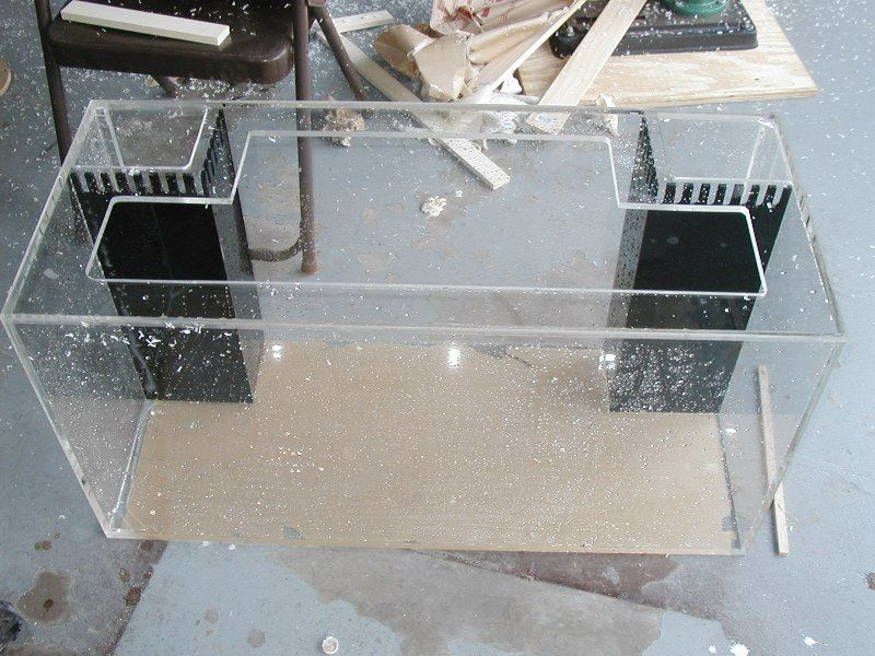Diy Acrylic Tank Glass Fish Tanks Diy Aquarium Saltwater