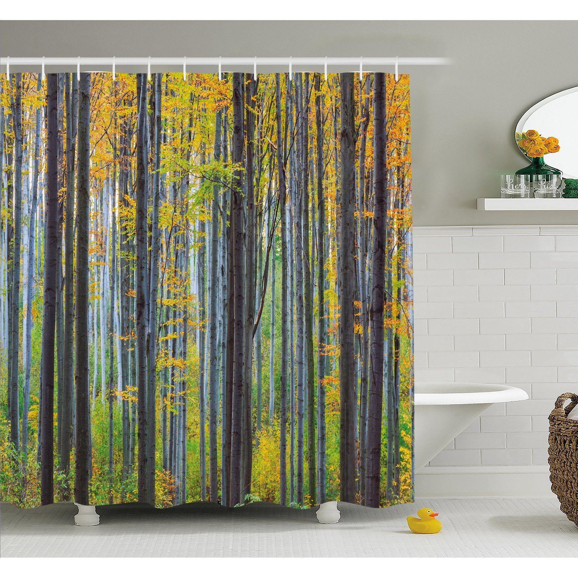 Fall shower curtain set legalizecrew pinterest
