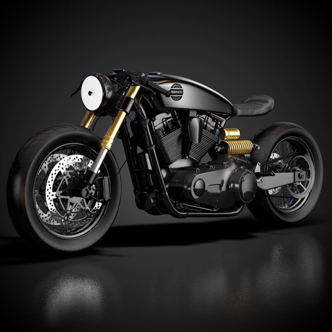 Harley Davidson By Ziggymoto Harley Davidson Chopper Harley Davidson Harley
