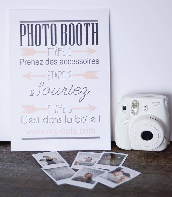 id e livre d 39 or et animations mariage avec my pola concours mariage photo booth and wedding. Black Bedroom Furniture Sets. Home Design Ideas