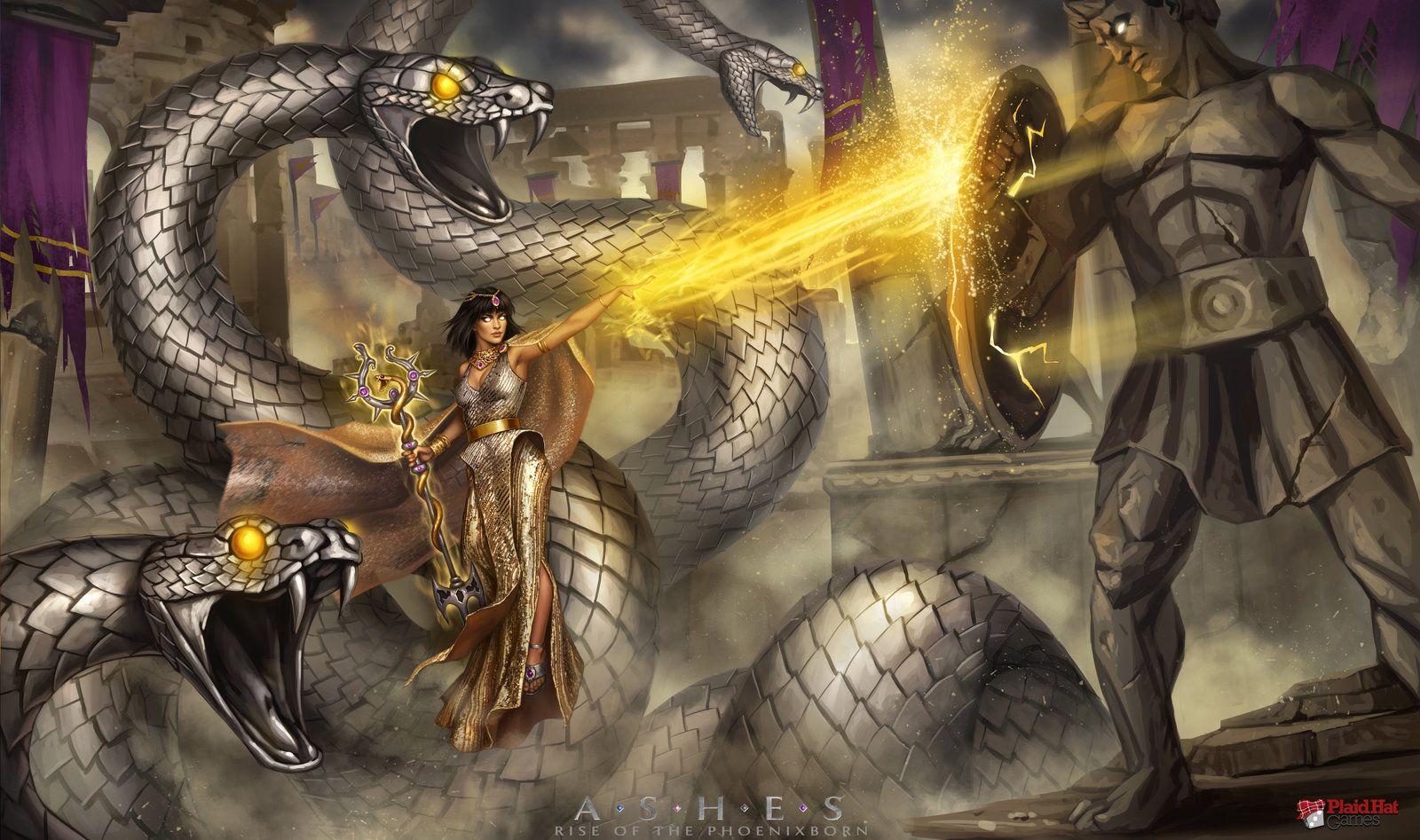 Ashes: Silverwood by fdasuarez on DeviantArt