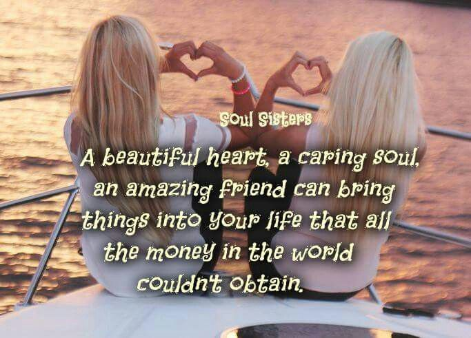 My friend with a beautiful heart and caring soul!