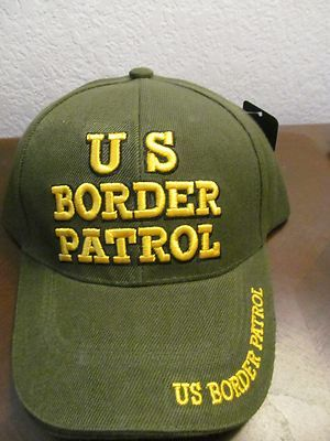90bd7598f18f88 NEW US BORDER PATROL CAP ONE SIZE FITS MOST Train Set, Gauges, Baseball Hats