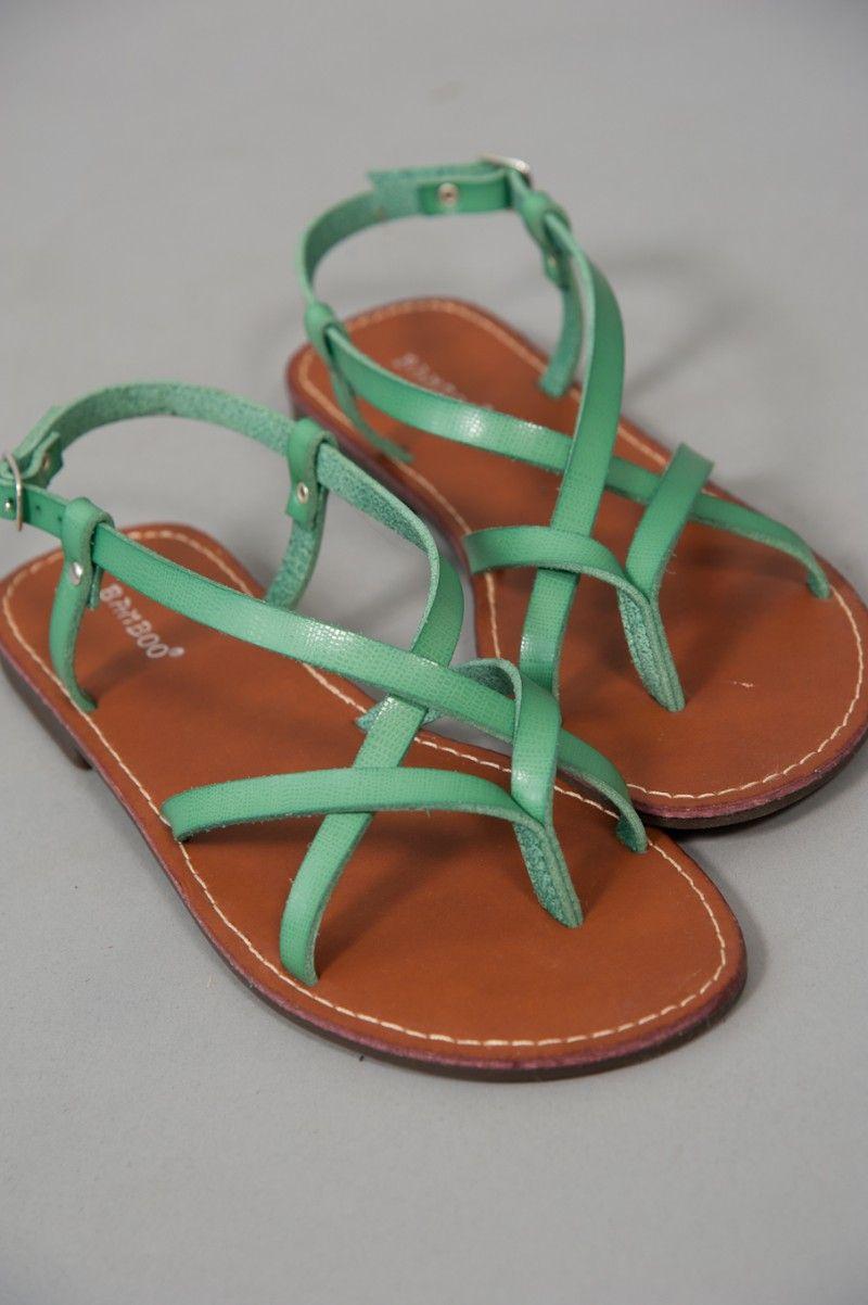 Summer Forever Sandal-Green- love these