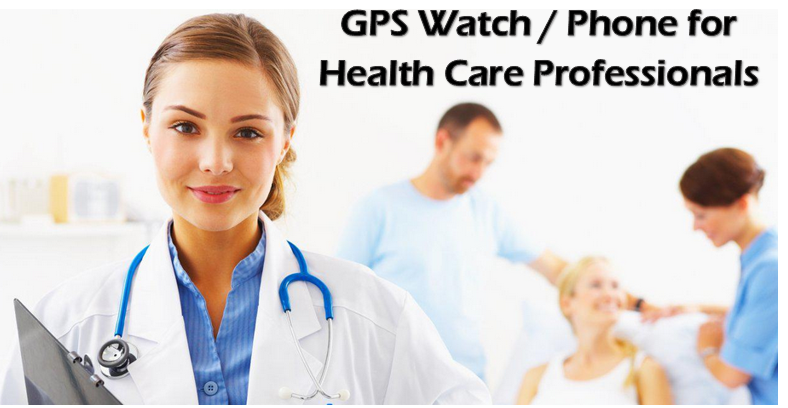 Health Care GPS Watch/Phone Tracking Primary care