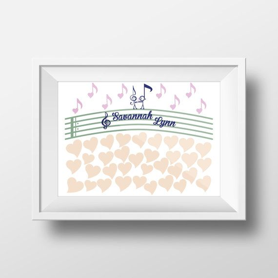 colors the o jays babies showers poster guestbook baby showers music