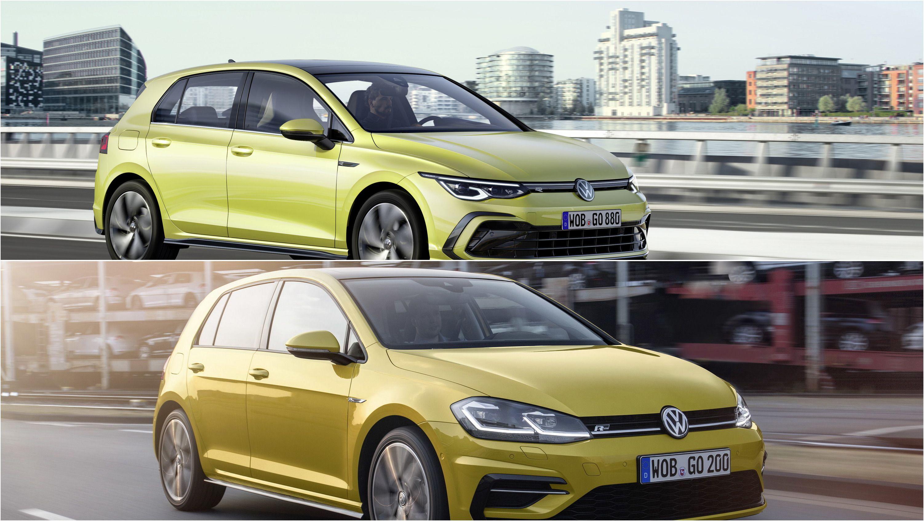 Volkswagen Golf Mk8 Vs Mk7 A Design Comparison Volkswagen