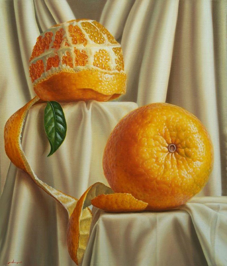 Cuadros modernos pinturas limones en limonada de for Marcos para pinturas