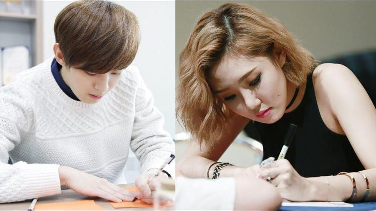 7 Kpop Idols Were Left Handed You Might Not Know