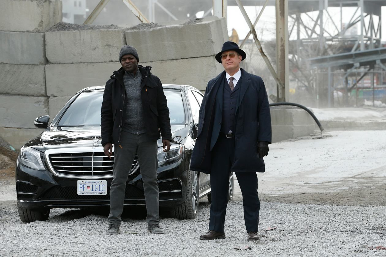 James Spader And Hisham Tawfiq In The Blacklist 2013 The Blacklist James Spader Hisham Tawfiq