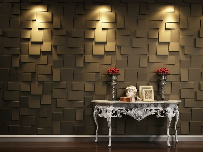 Le panneau mural 3d un luxe facile avoir panneaux muraux d coratifs panneau - Panneau decoratif mural 3d ...