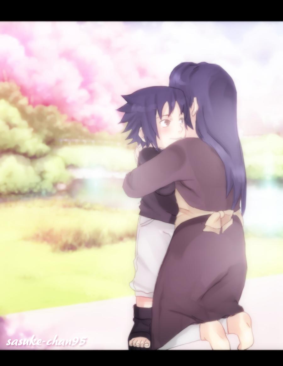 Mikoto and Sasuke