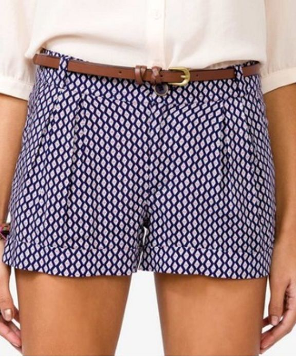 Geo Print Shorts | Forever 21