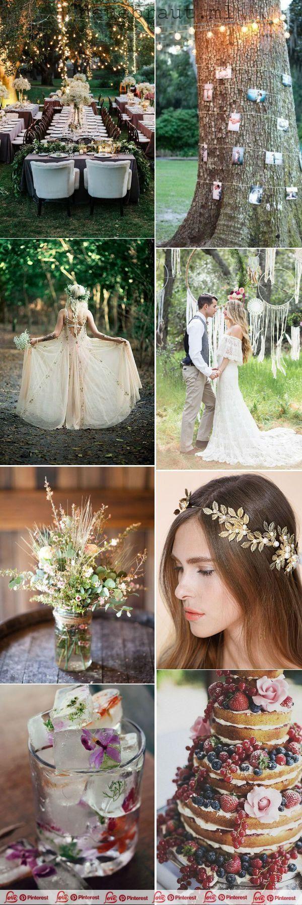 Bohmische Hochzeitsideen Des Fruhlinges 2019 Bohmische