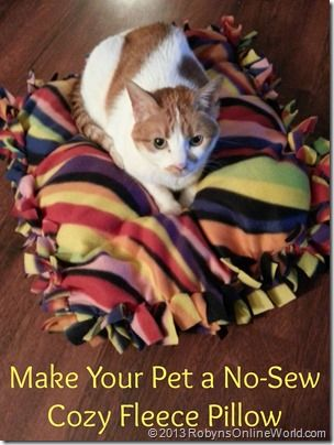 how to make a cat pillow