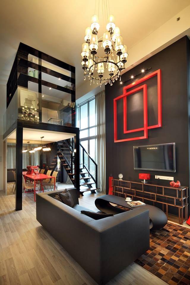 Southbank Condominium Interior Design Loft Interior Design Condominium Interior