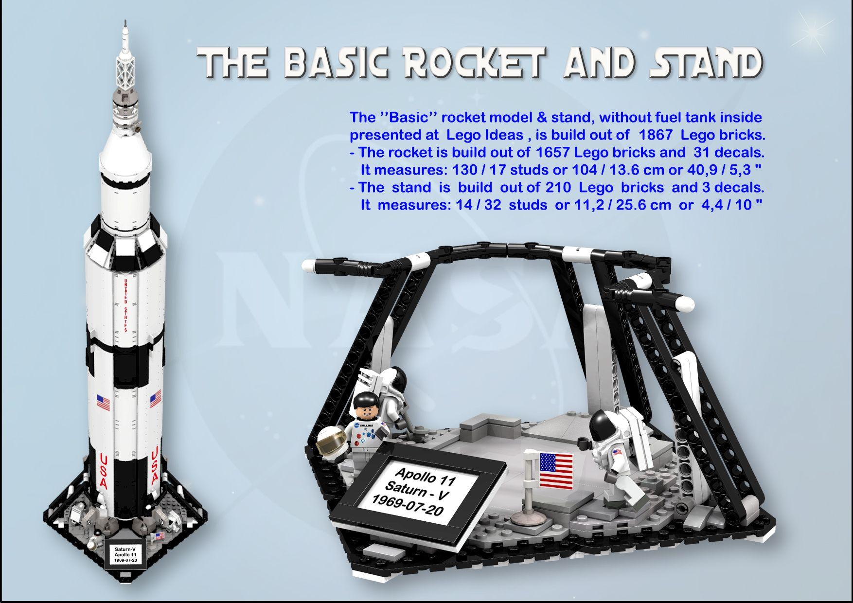 Apollo 11 Saturn V Apollo 11 Apollo 11 Moon Landing Lego Universe