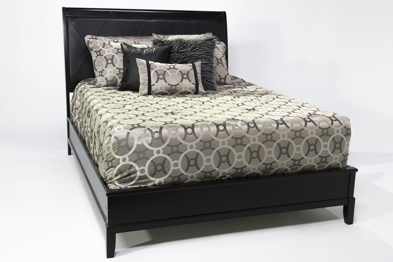 diamond cal king bed  beds  bedroom  mattress furniture