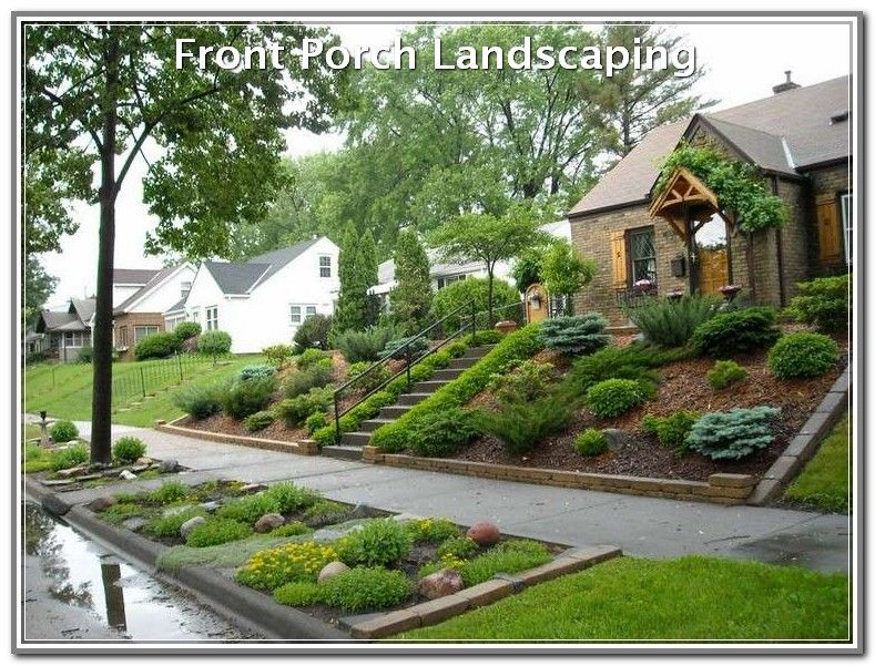 steep front yard on Create A Perfect Yard With These Tips Landscaping Lovers Backyard Hill Landscaping Sloped Backyard Sloped Garden
