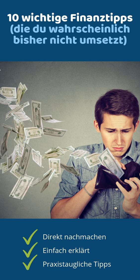 ᐅ 10 Tipps zum richtigen Umgang mit Geld | Spartipps ...