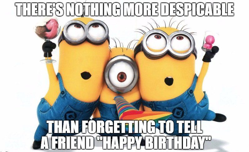 Funny Happy Birthday Style Cool Happy Birthday Wishes Minions Minions Funny Minions Wallpaper