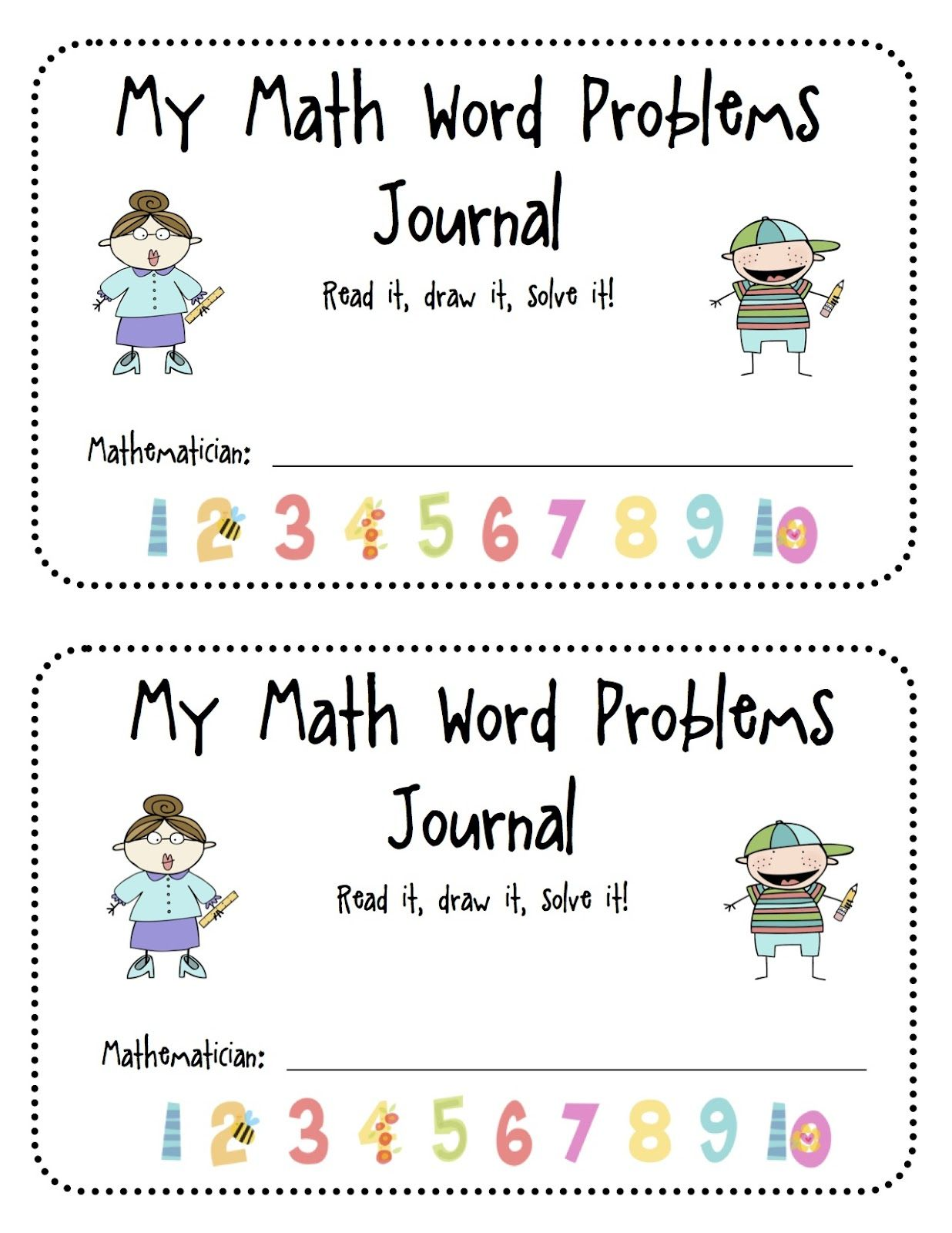Free Math Word Problems Firstgradefaculty Com