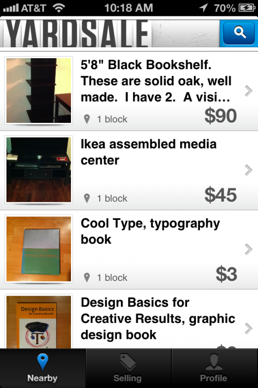 Have Stuff To Sell Try Yardsale For Ios Yard Sale Things To Sell Garage Sale Tips