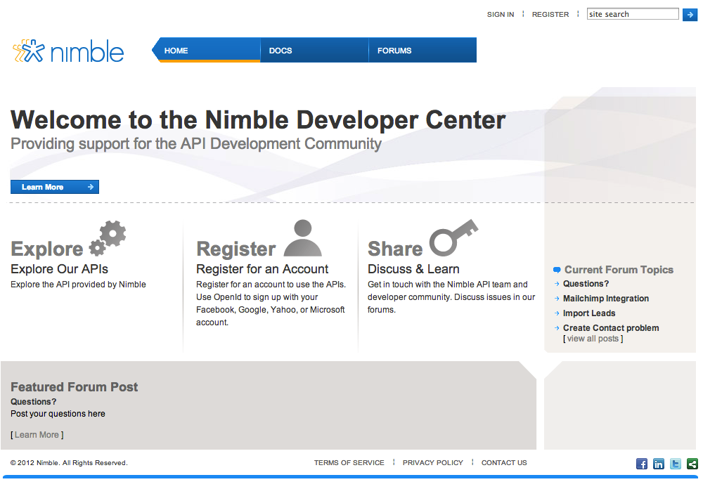 With Nimble's social CRM, easily manage all your contacts,   communications, activities and sales in one single place.